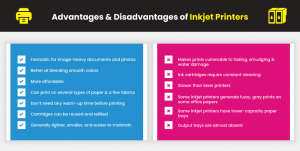 Advantages and Disadvantages of Ink Jet Printers