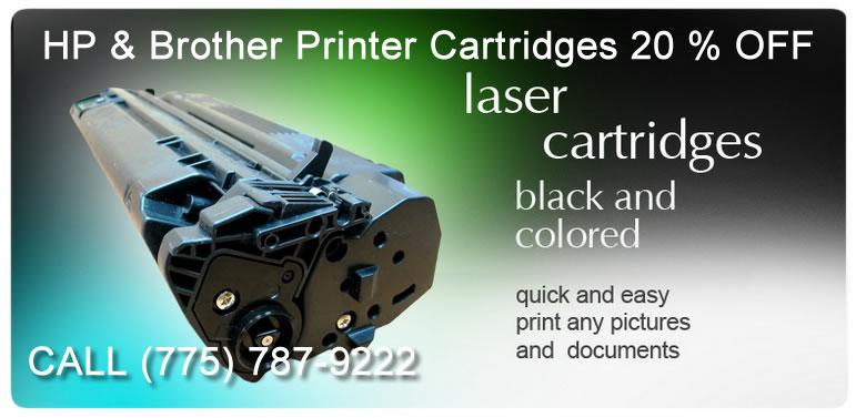 HP Brother Printer Toner Sale Reno Carson NV